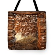 Indian Ruins Doorway Tote Bag