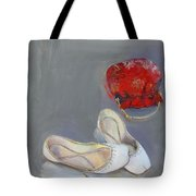 White Shoes  Tote Bag