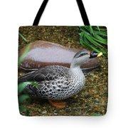 Indian Spot-billed Duck Tote Bag