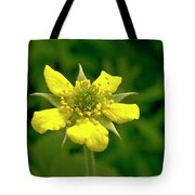 Indian Strawberry Flower Tote Bag