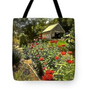 Indian Summer Garden Tote Bag