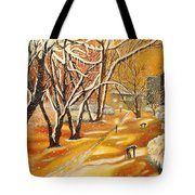 Indian Summer Wish Tote Bag by Milagros Palmieri
