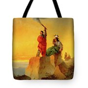 Indian Telegraph Tote Bag