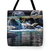 Indian Wells Waterfall Tote Bag