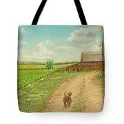 Indiana Farm Tote Bag