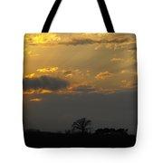 Indiana Farm Sunset 3 Tote Bag