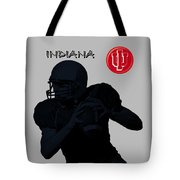 Indiana Football Tote Bag