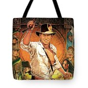 Indiana Jones Raiders Of The Lost Ark 1981 Tote Bag