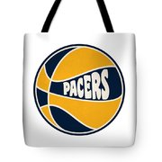 Indiana Pacers Retro Shirt Tote Bag