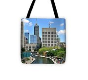 Indianapolis Canal Tote Bag