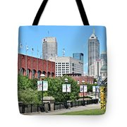 Indianapolis From The Park Tote Bag