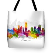 Indianapolis Indiana Cityscape 13 Tote Bag