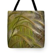 Indiangrass Swaying Softly With The Wind Tote Bag