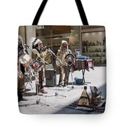 Indians In Greece Tote Bag