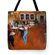 Indigo Alley Tote Bag