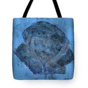 Indistincint Blues Tote Bag