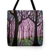 Indivisibly Intertwined Tote Bag