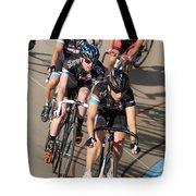 Indoor Bike Race Tote Bag