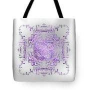 Indulgent Purple Lace Tote Bag