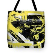 Industrial Abstract Painting I Tote Bag