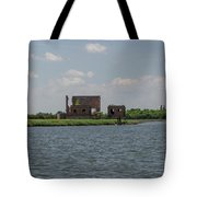 Industrial Banks Of The Charleston Harbor Tote Bag
