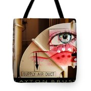 Industrial Ceiling Dreams Tote Bag