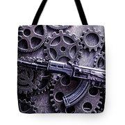 Industrial Firearms  Tote Bag