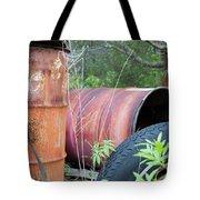 Industrial Leftovers Tote Bag
