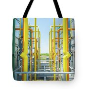 Industrial Piping Tote Bag