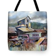 Industrial Recreation Park Tote Bag