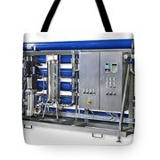 Industrial Ro Plant Tote Bag