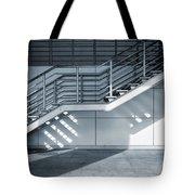 Industrial Stairway Tote Bag