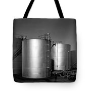 Industrial Storage Tanks Tote Bag
