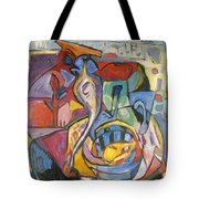 Industrial Thinking Cap Tote Bag
