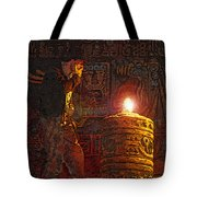 Indys Golden Idol Tote Bag
