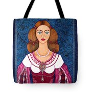 Ines De Castro - The Love Crowned Tote Bag
