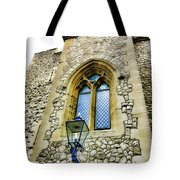 Infamous White Tower Of London Tote Bag