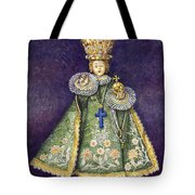 Infant Jesus Of Prague Tote Bag