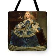 Infanta Margarita Teresa In A Blue Dress Tote Bag