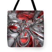 Infection Abstract Tote Bag