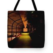 Infinite Bridge At Night Tote Bag