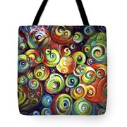 Infinite Cosmic - Abstract Tote Bag
