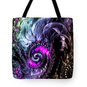Infinite Cosmic Drain  Tote Bag