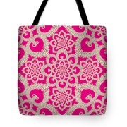 Infinite Lily In Pink Tote Bag