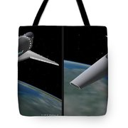 Infinity And Beyond - Gently Cross Your Eyes And Focus On The Middle Image Tote Bag