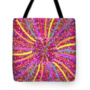 Infinity Star Flower An Abstract Fineart Expression By Navinjoshi At Fineartamerica.  Colorful Fun Tote Bag