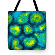 Influenza Viruses, Tem Tote Bag