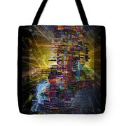 Infographics For Enlightenment In The New City Tote Bag