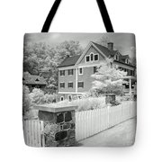 Infra Structure B W Tote Bag