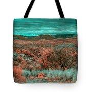 Infrared Arizona Tote Bag